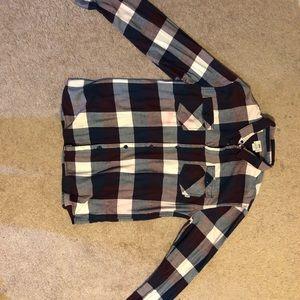 Vans Shirts - VANS PLAID BUTTON DOWN